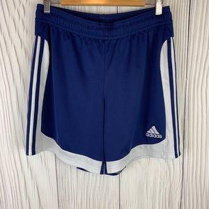 Adidas Climalite Men's Shorts Blue/ White Medium